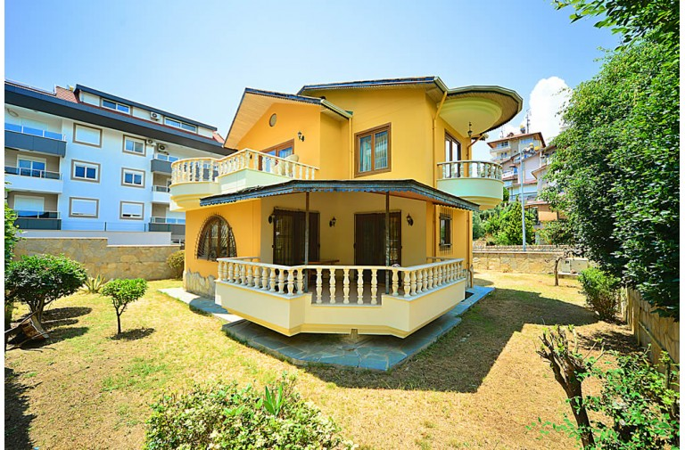 Fully Furnished 3 + 1 Villa at an Affordable Price in Kestel
